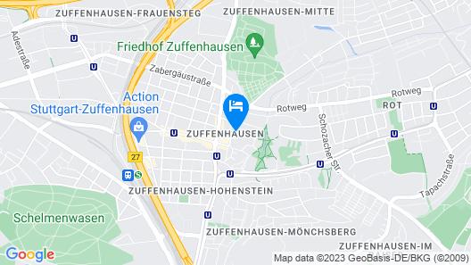LILTON Hotel Zuffenhausen Map