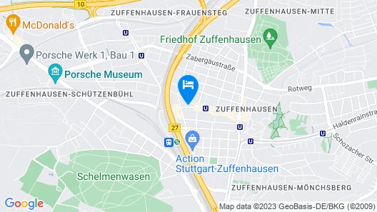 Novum Hotel Bruy Map