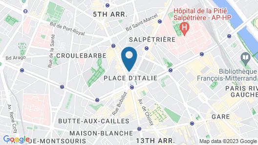 La Manufacture Map