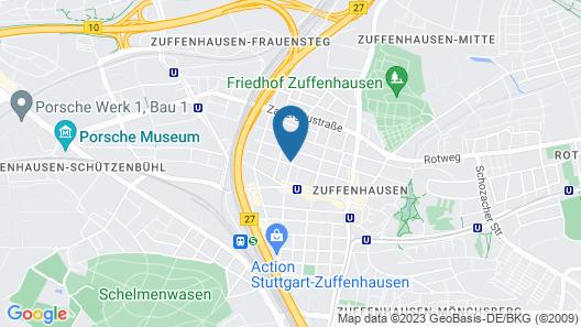 AB Apartments - Apartments Markroeningerstrasse Map