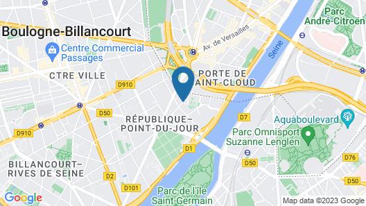 Mercure Paris Boulogne Map