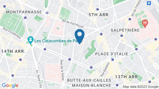 Belambra City Hôtel Magendie Map