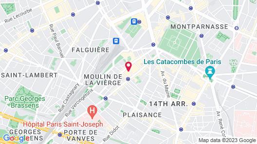 Niepce Paris Hotel, Curio Collection by Hilton Map