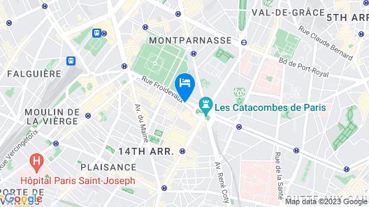 Villa Montparnasse Map