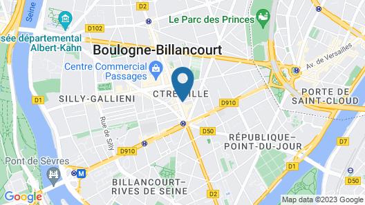 Hôtel Villa Sorel Map