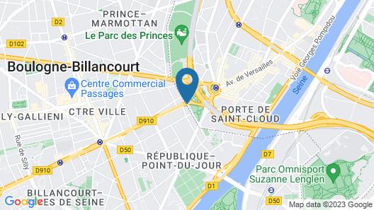 ibis Styles Paris 16 Boulogne Map