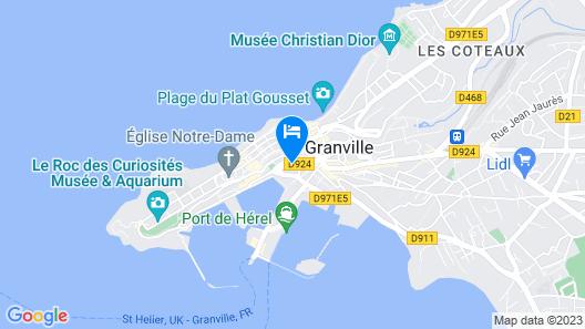 Entre Port et Plage Map