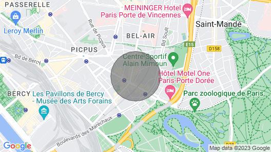 Upea Huoneisto Pariisissa Map