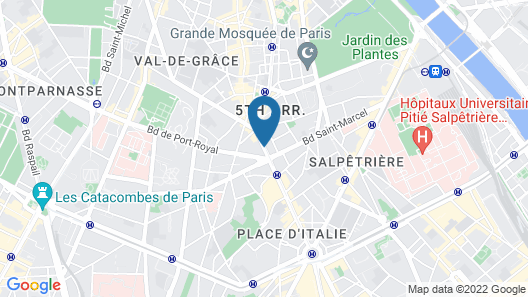 Hôtel Garance Map