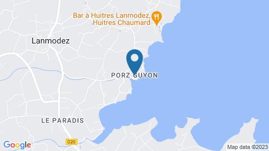 Grande Maison en Pierres Face à Lîle de Bréhat Vue Mer Map