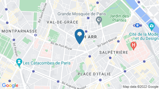 Hôtel de l'Espérance Map