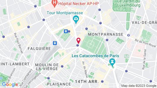 voco Paris Montparnasse Map