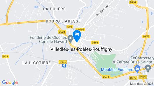 Hôtel Saint-Pierre Map