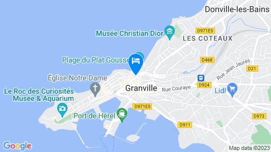 Hotel des Bains Map