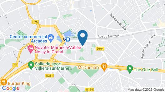 Charmand Appartement Proche de Paris Map