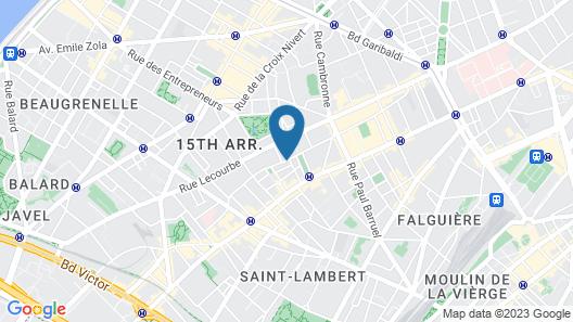 Hotel Eden Map