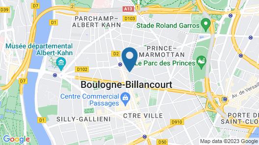 Hotel de Paris Map
