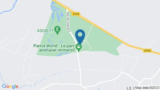 Hotel Les Suites- Domaine de Crécy Map