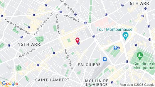 Hotel Yllen Eiffel Map