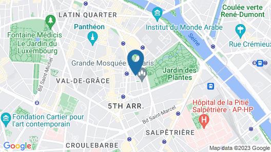 Apartement 2-3 Bedrooms Map