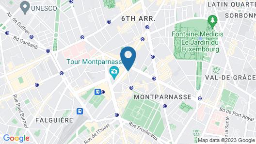 Hotel Berkeley Map