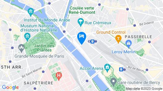 CitizenM Paris Gare de Lyon Map
