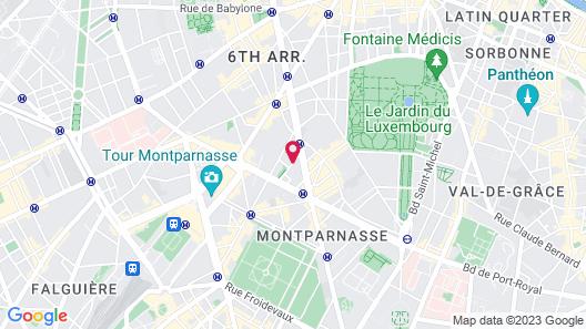 Hotel Le Six Map