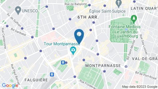 Hôtel Edouard 6 Map
