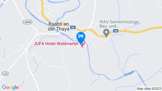 JUFA Hotel Waldviertel Map