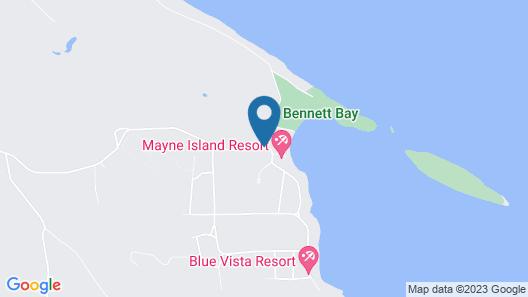 Mayne Island Resort Map