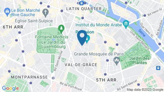 Hôtel Des Grands Hommes Map