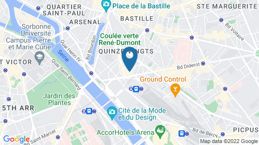 Hotel Palym Map