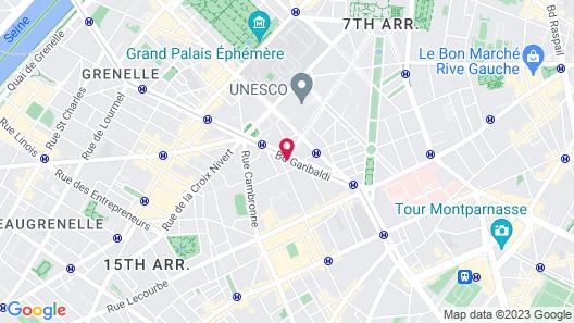 Hotel Eiffel Segur Map