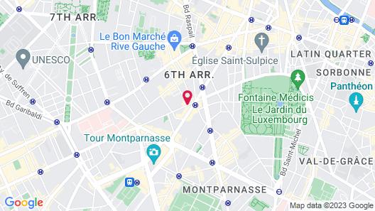 Holiday Inn Paris - Saint Germain des Prés, an IHG Hotel Map