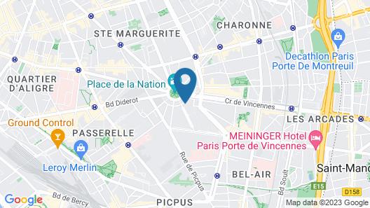Les Piaules Nation - Hostel Map