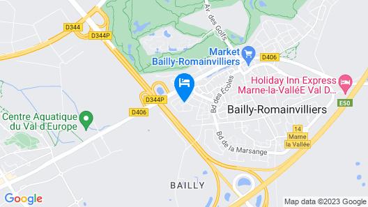 Maison des Legnots Map
