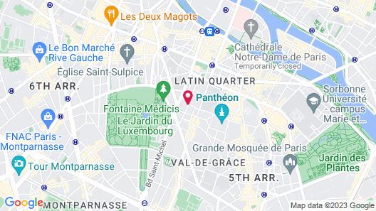 Grand Hotel Saint Michel Map