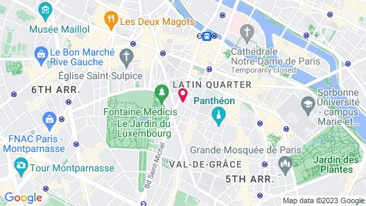 Hôtel Excelsior Latin Map