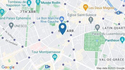 Hotel De Sevres Map