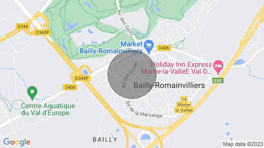 Charmante Maison de Ville Map