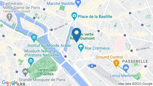 Le Marceau Bastille Map