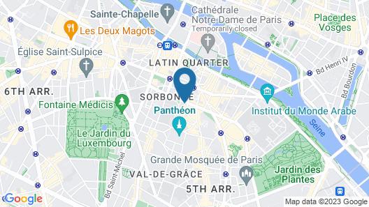 Villa Pantheon Map
