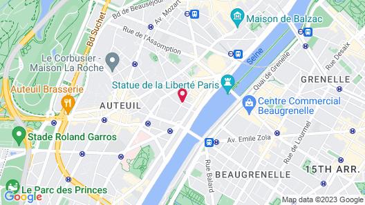 Hotel Félicien by Elegancia Map