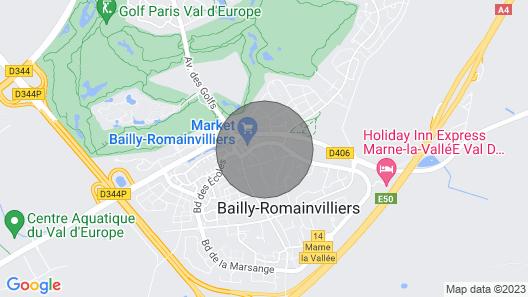 Bedland, your home close to Disneyland Paris  Map