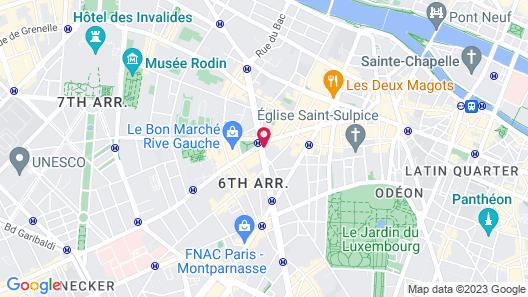 Hôtel Lutetia Map