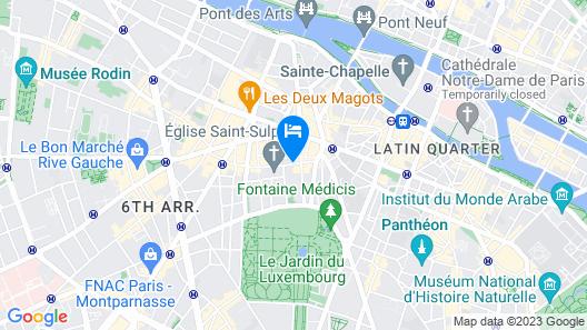 Esprit Saint-Germain Map