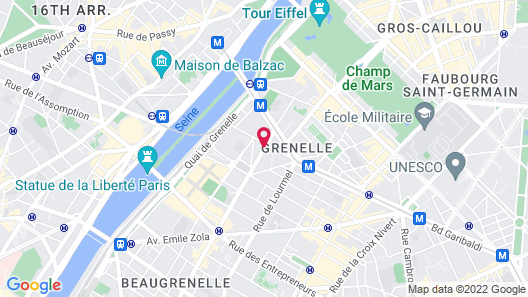 Hôtel France Eiffel Map