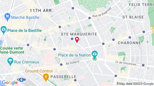 Grand Hotel Francais Map