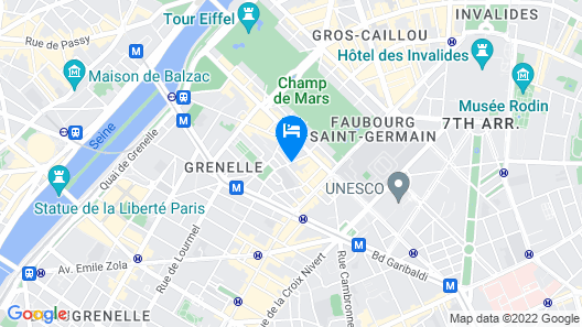 Le Marquis Eiffel Map