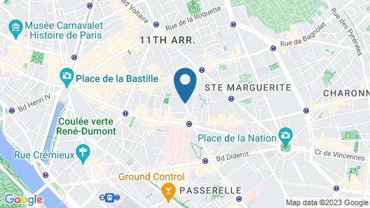 Hôtel Paris Bastille Boutet - MGallery by Sofitel Map